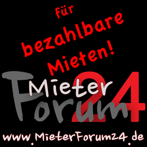 Banner - MieterForum24 - 300 x 300 pixel